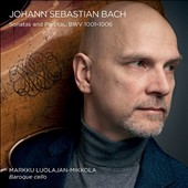 J.S. Bach: Sonatas and Partitas for cello solo, BWV 1001-1006 / Markku Luolajan-Mikkola, Baroque cello