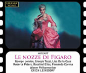Mozart: The Marriage of Figaro, opera / George London, bass-baritone; Lisa della Casa, soprano; Vienna Philharmonic, Vienna State Opera Choir, Erich Leinsdorf