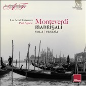 Monteverdi: Madrigali, Vol. 3 - Venezia / William Christie, Les Arts Florissants