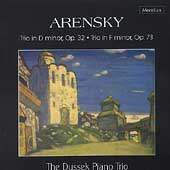 Arensky: Piano Trios / Dussek Piano Trio
