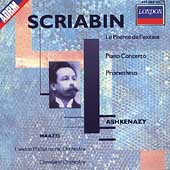 Scriabin: Le po&#232;me de l'extase, etc / Ashkenazy, Maazel