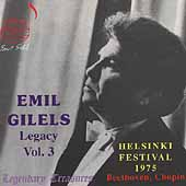 Legendary Treasures - Emil Gilels Legacy Vol 3