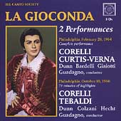 Ponchielli: La Gioconda / Guadagno, Corelli, et al