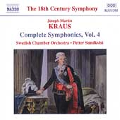 The 18th Century Symphony - Kraus: Complete Symphonies Vol 4