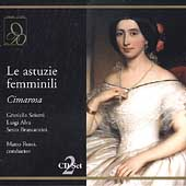 Cimarosa: Le Astuzie Femminili, etc / Rossi, Sciutti, et al