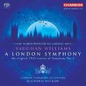 Vaughan Williams: Symphony no 2;  Butterworth / Hickox