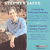 Jaffe: Violin Concerto, Chamber Concerto / Fulkerson, et al