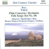 21st Century Classics - Vali: Flute Concerto, etc / Gil Rose, et al