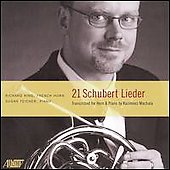 Schubert: 21 Lieder / Richard King, Susan Teicher