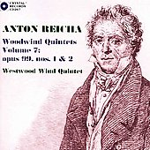 Reicha: Woodwind Quintets Op 99 no 1 & 2 / Westwood Wind