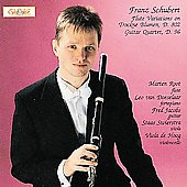 Schubert: Flute Variations & Guitar Quartet / Marten Root