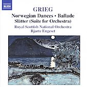 Grieg: Norwegian Dances, Ballade, etc / Engeset, et al