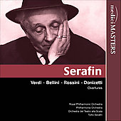 Verdi, Bellini, Donizetti, et al: Overtures / Serafin, et al