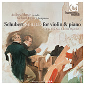 Schubert: Sonatas for Violin and Piano / Manze, Egarr