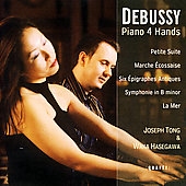 Debussy: Music for Piano 4 Hands / Tong, Hasegawa