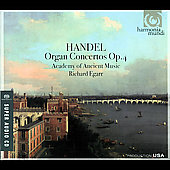 Handel: Organ Concertos / Egarr, Academy of Ancient Music