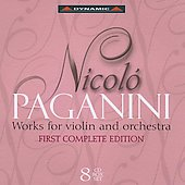 Paganini: Works for Violin and Orchestra - First Complete Edition