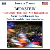 Bernstein: Violin Sonata; Piano Trio