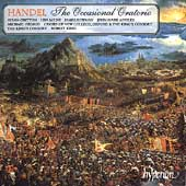 Handel: The Occasional Oratorio / King, King's Consort
