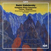Kabalevsky: Complete Piano Concertos nos 1-4; Fantasy in F minor; Rhapsody Op. 75 / Michael Korstick, piano