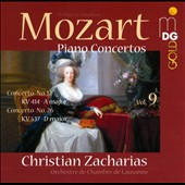 Mozart: Piano Concertos, Vol. 9 - Concertos nos 12 & 26 / Christian Zacharias