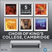 Choir of King's College Cambridge: 5 Classic Albums - works by Rachmaninov, Vivaldi, Handel, Allegri et al.