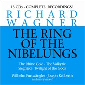 Wagner: The Ring Of The Nibelungs (rec. 1952-1954) / Uhde, Windgassen, Rysanek, Frick, Kuen, Greindl, Lorenz, Varnay, et al. Furtwangler, Keilberth et al. [13 CDs]