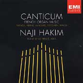 DEBUT  Canticum - French Organ Music / Naji Hakim