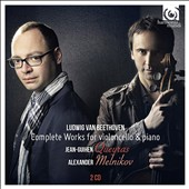 Beethoven: Complete Works for cello & piano / Jean-Guihen Queyras, cello; Alexander Melnikov, piano [2 CDs]