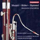 Mozart, Weber, Hummel: Bassoon Concertos / Popov, Polyansky