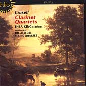 Crusell: Clarinet Quartets / King, Allegri String Quartet