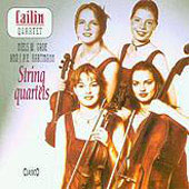 Gade, Hartmann: String Quartets / Cailin Quartet