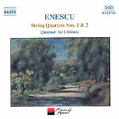 Enescu: String Quartets 1 & 2 / Quatour Ad Libitum
