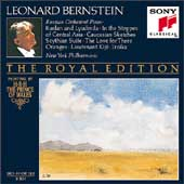 The Royal Edition - Russian Orchestral Music / Bernstein