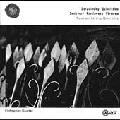 Stravinsky, et al.: Music for String Quartet / Chilingirian