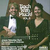 Bach with Pluck Vol 2 / Elaine Comparone, Dusan Bogdanovic