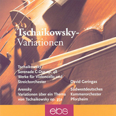 Tschaikowsky-Variationen - Tchaikovsky, Arensky / Geringas