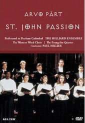 Part: St. John Passion / Hillier, Potter, George [DVD]