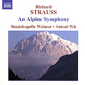 Strauss: Eine Alpensinfonie / Wit, Staatskapelle Weimar