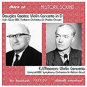 Coates, Moeran: Violin Concertos / Boult, Groves, et al