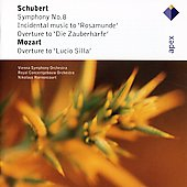 Schubert: Symphony No.8 'unfinished', Incidental Music To Rosamunde, Etc.