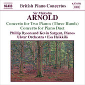 British Piano Concertos - Arnold: Concerto for Two Pianos
