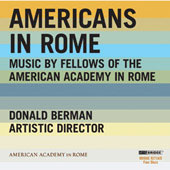 American in Rome - Beaser, Barber, Thompson, etc / Six for Five Wind Quintet