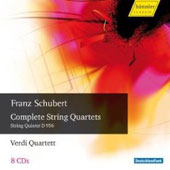 Schubert: The Complete String Quartets / Verdi Quartet