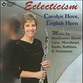 Eclecticism / Beethoven, Ravel / Richard Lane, Patricia Morehead, Carolyn Hove,