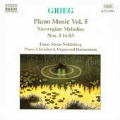 Grieg: Piano Music Vol 5 - Norwegian Melodies no 1 to 63