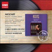 Mozart: Requiem; Exsultate Jubilate / Donath, Ludwig, Tear, Lloyd, Hendricks
