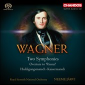 Wagner: Two Symphonies; Rienzi Overture et al. / Neeme Jarvi