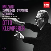 Mozart: Symphonies; Overtures; Serenades / Otto Klemperer