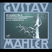 Mahler: Symphony No. 4 / Galina Vishnevskaya: soprano; Moscow PO, Oistrakh